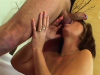 Desirable Granny Filled Nearly Chubby Dick